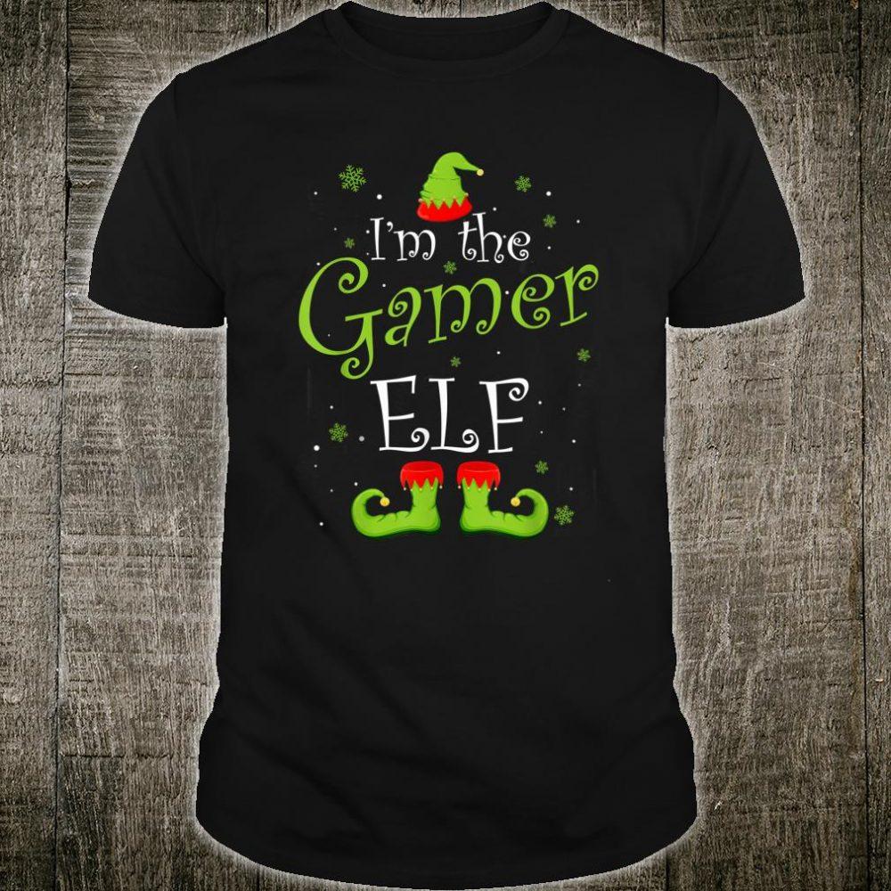 I'm The Gamer Elf Christmas Shirt
