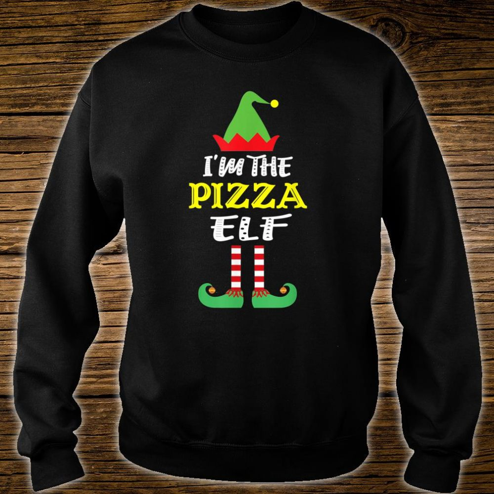 I'm The Pizza Elf Matching Group Christmas Shirt sweater