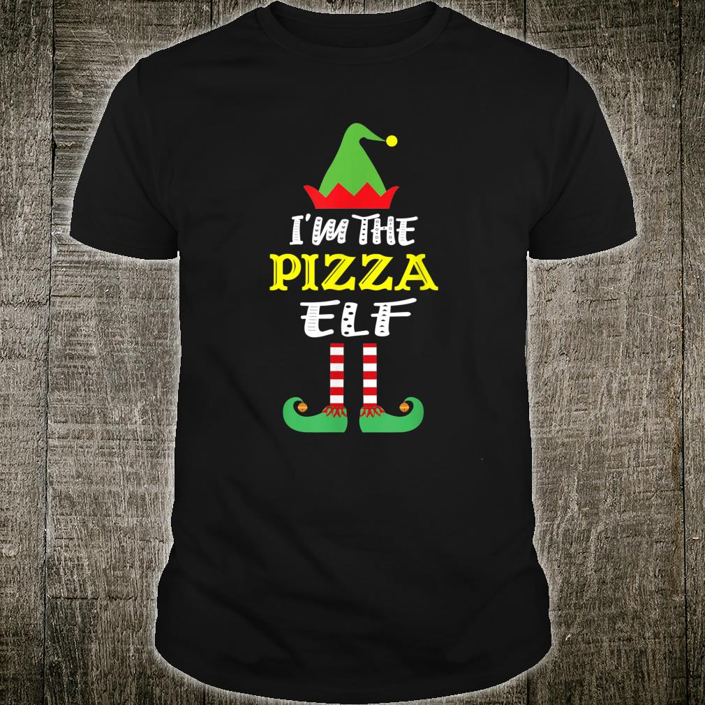 I'm The Pizza Elf Matching Group Christmas Shirt