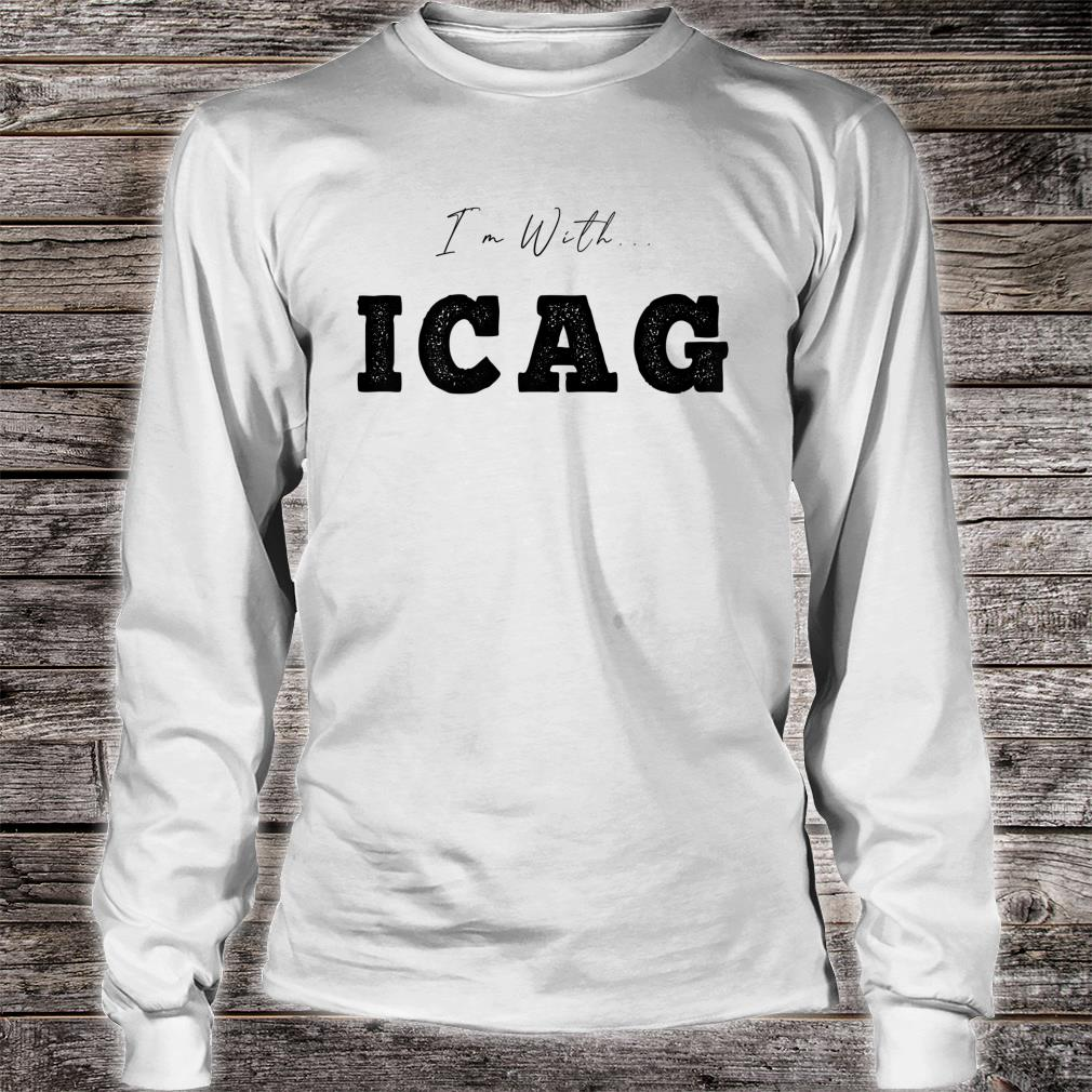 I'm With... ICAG Shirt long sleeved
