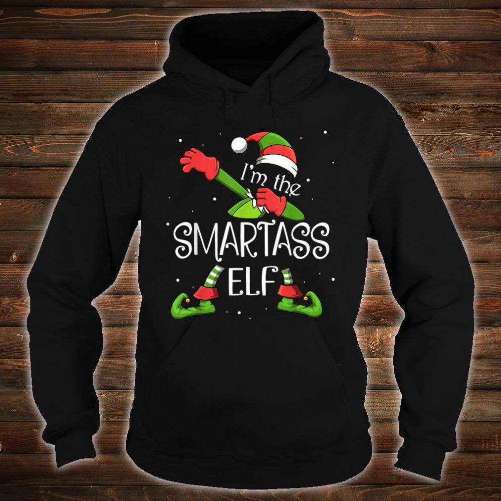 I'm the Smartass Elf Dabbing Funny Xmas Shirt hoodie