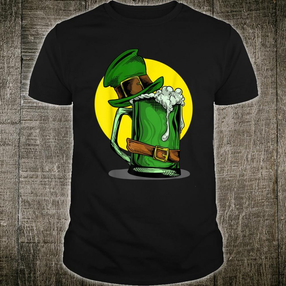 Irish Green Beer With Hat St. Patrick's Day Shirt