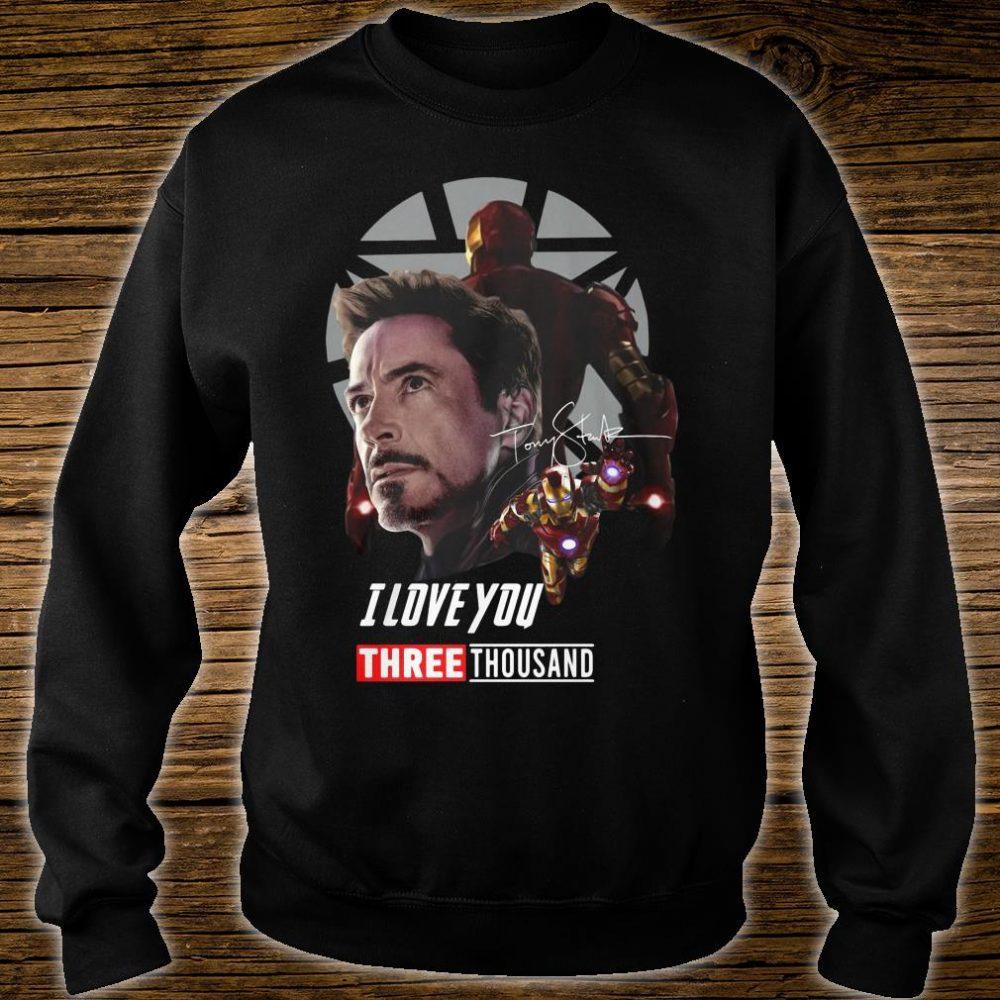 Iron man I love you three thousand shirt sweater