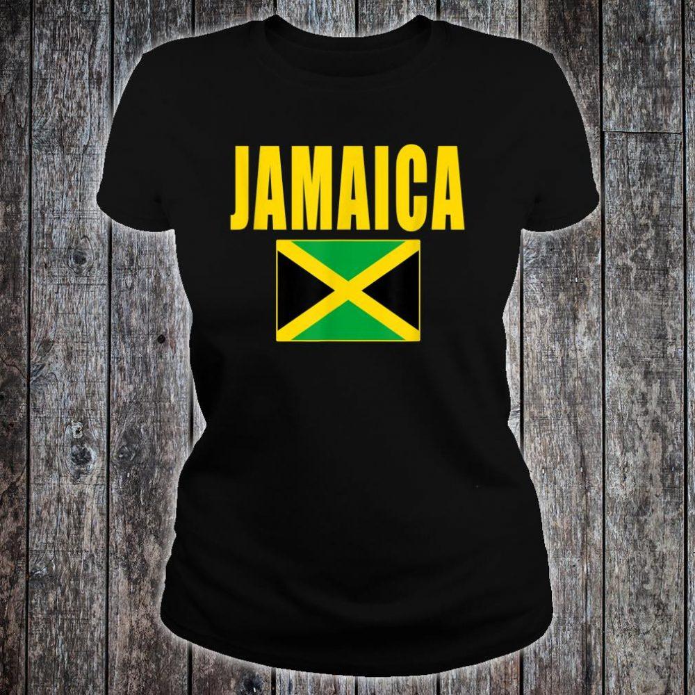 Jamaica Flag Jamaican Shirt ladies tee