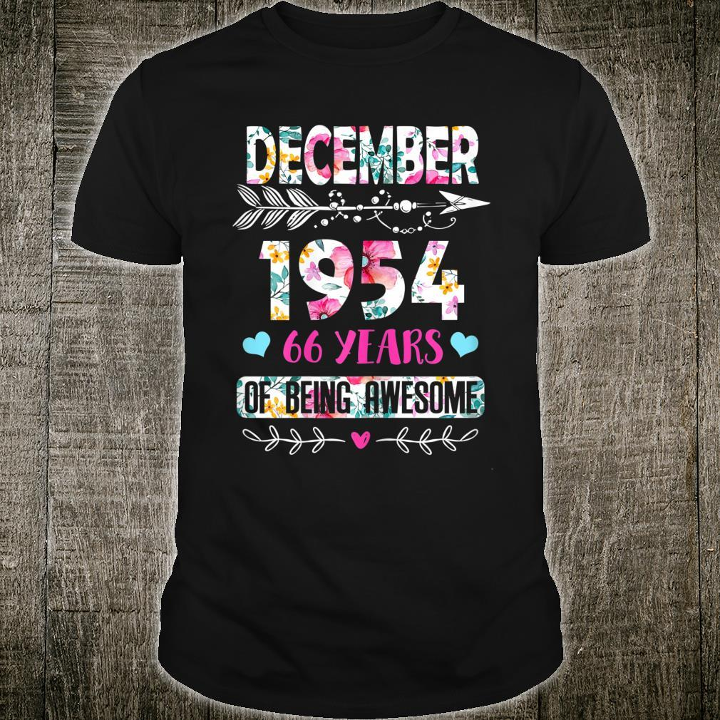 January 1954 67 Years of Being Awesome January Girl Shirt