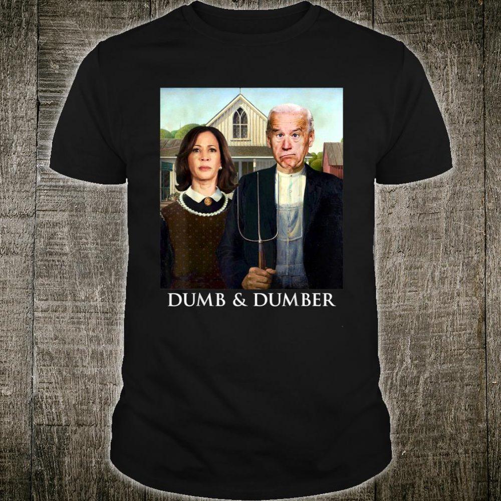Joe Biden Kamala Harris Dumb and Dumber 2020 Shirt