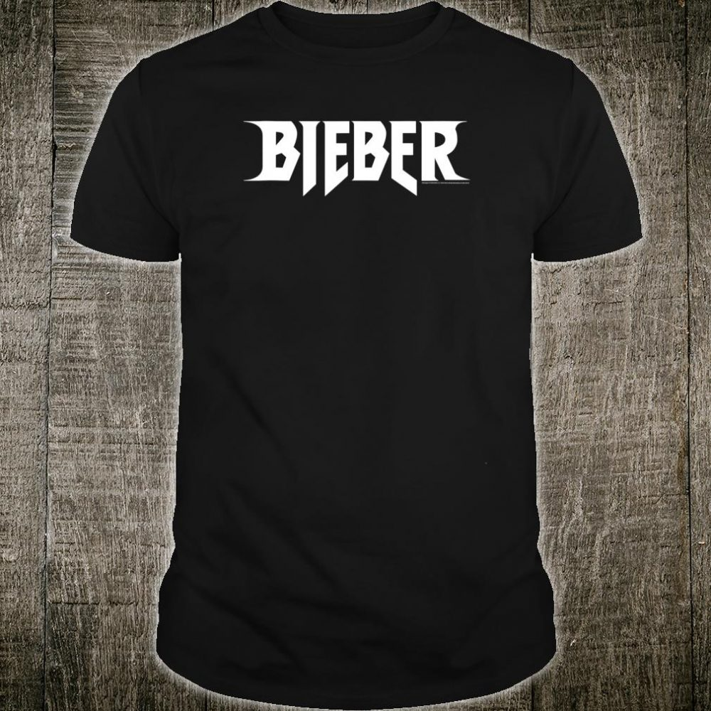 Justin Bieber Official Logo Shirt