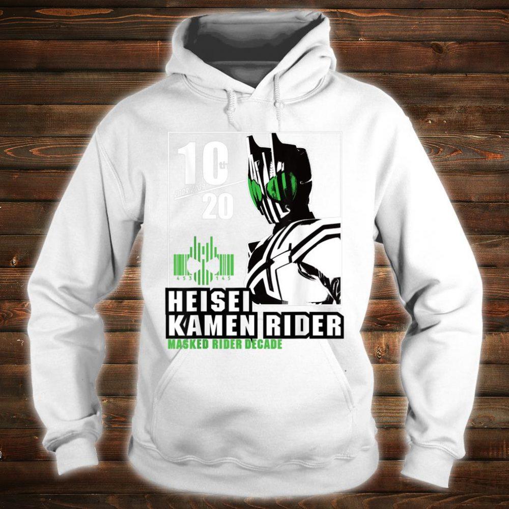 Kamen Rider Decade Heisei Rider Anniversary Shirt hoodie