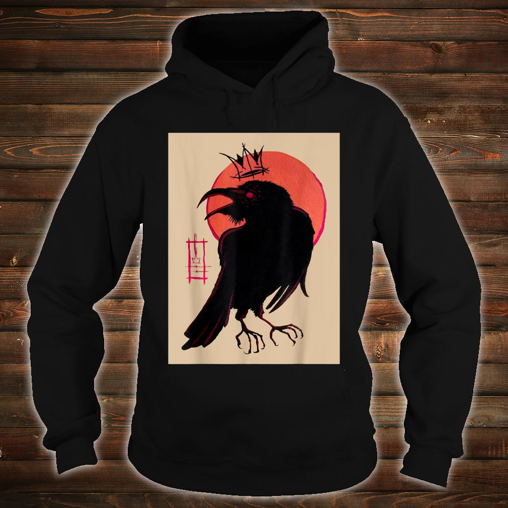King of the Corvids for Fans of Crows and Ravens Shirt hoodie