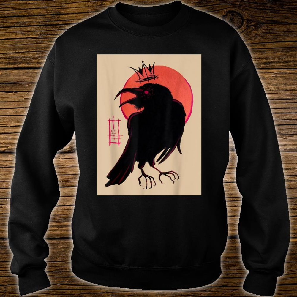 King of the Corvids for Fans of Crows and Ravens Shirt sweater