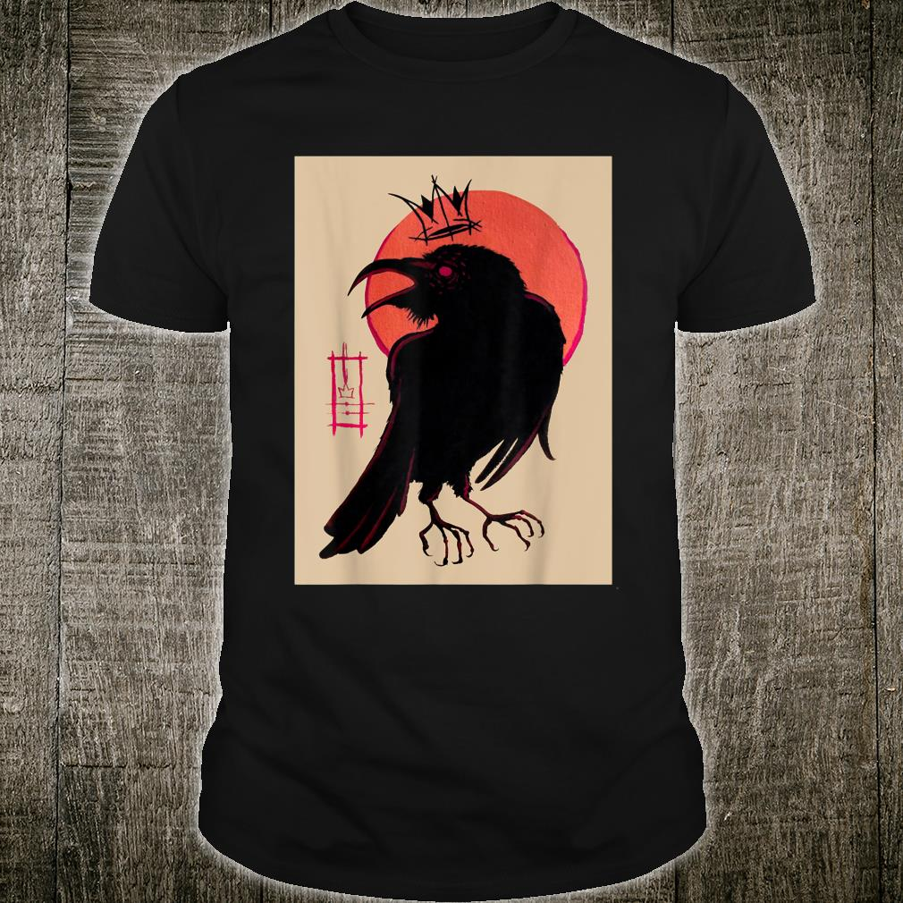 King of the Corvids for Fans of Crows and Ravens Shirt