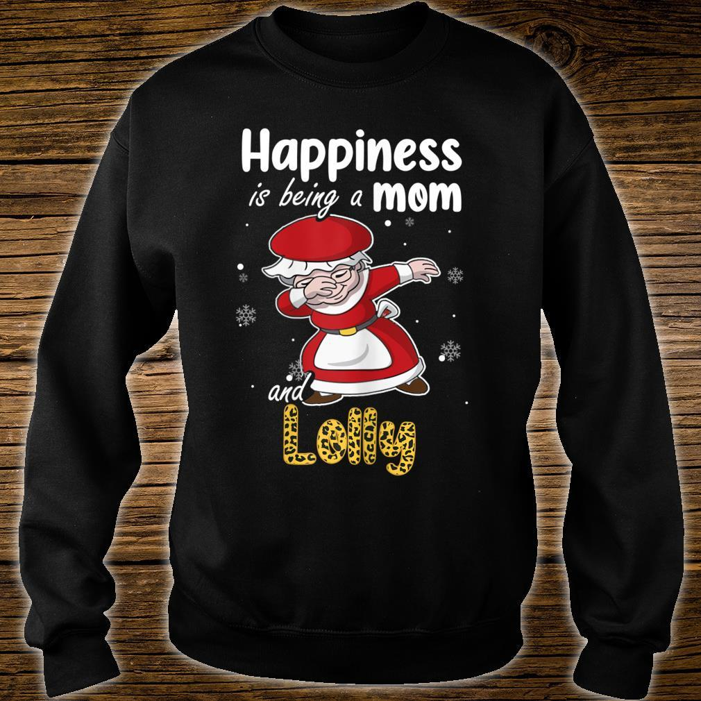 Leopard Grandma Shirt Happiness is being a Mom and Lolly Shirt sweater