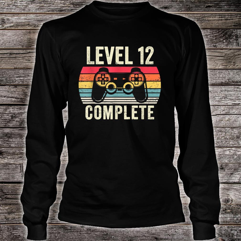 Level 12 Complete Shirt long sleeved