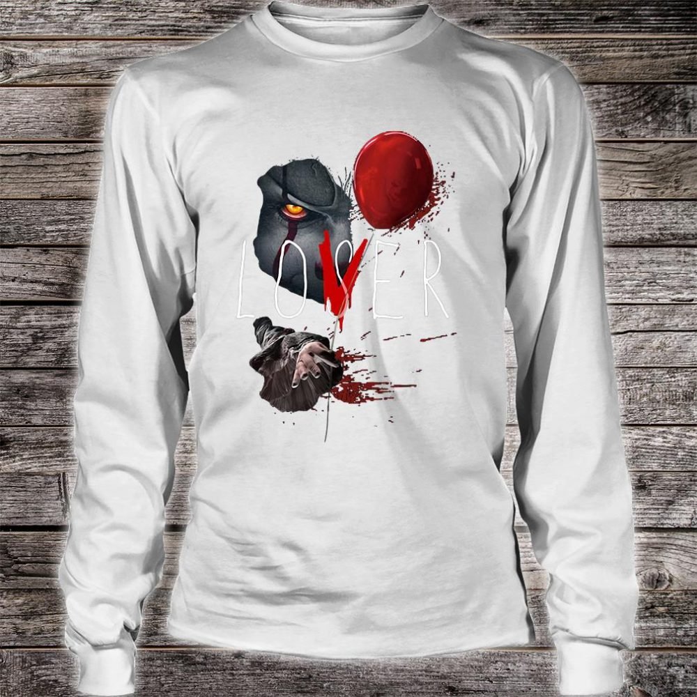 Losers and Lovers it chapter two pennywise shirt long sleeved