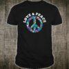 Love Peace Freedom Retro 60s 70s Hippie Shirt