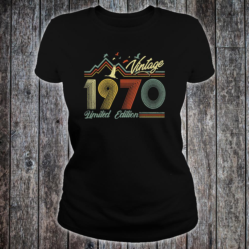 Made in 1970 Shirt ladies tee