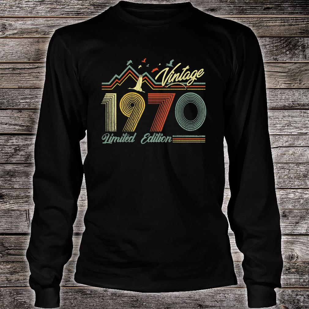 Made in 1970 Shirt long sleeved