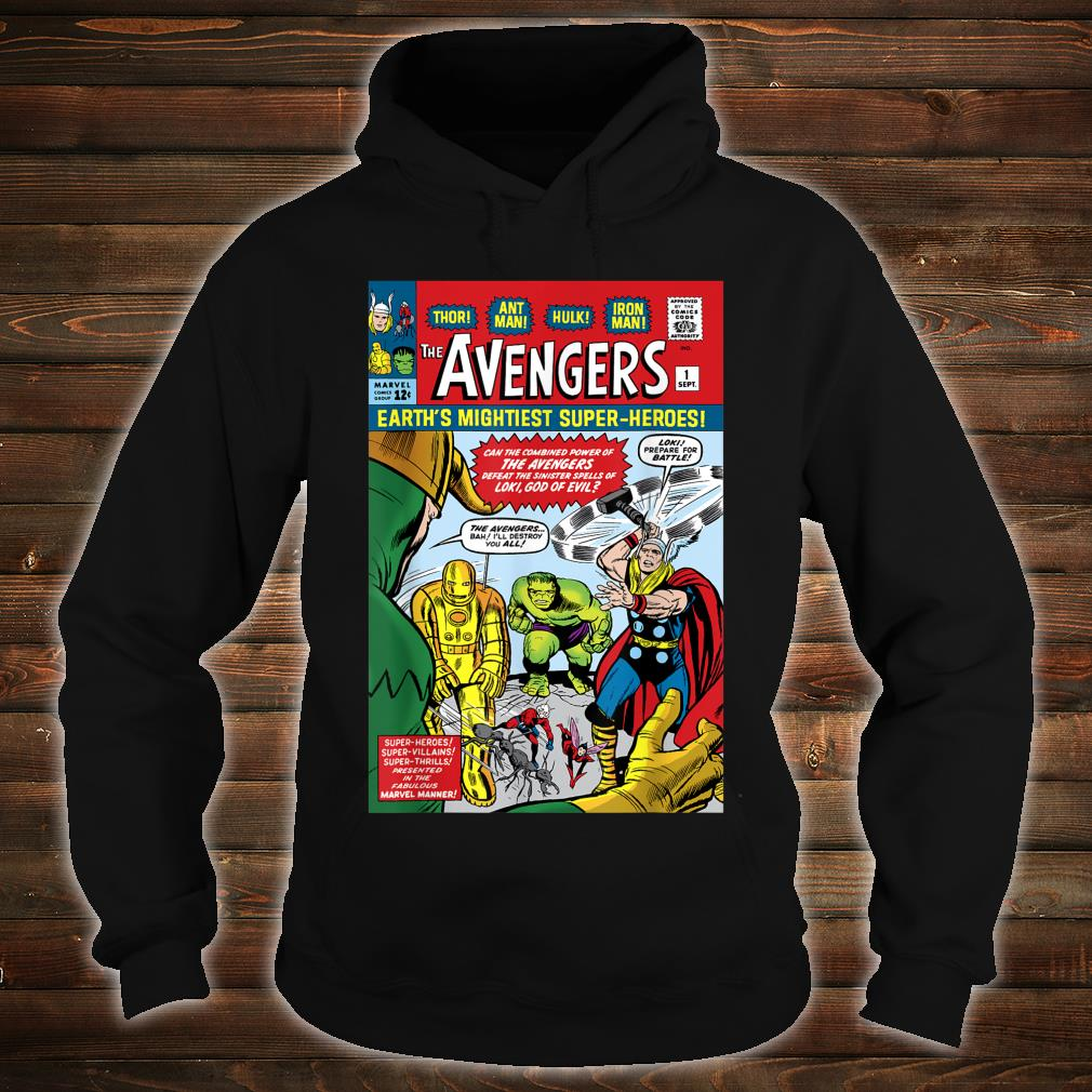 Marvel Avengers First Issue Comic Cover Shirt hoodie