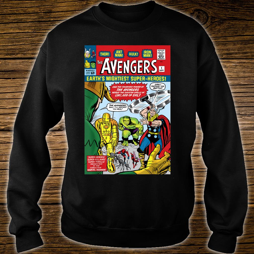 Marvel Avengers First Issue Comic Cover Shirt sweater