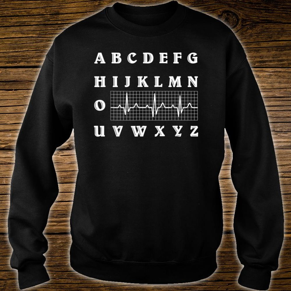 Med School Alphabet Medical Doctor Degree Graduation Shirt sweater