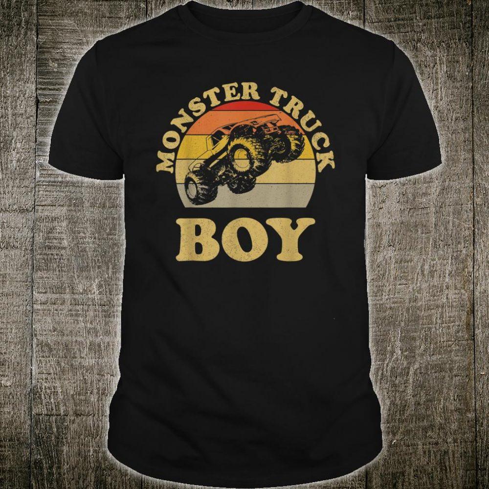 Monster Truck Boys Clothes Shirt