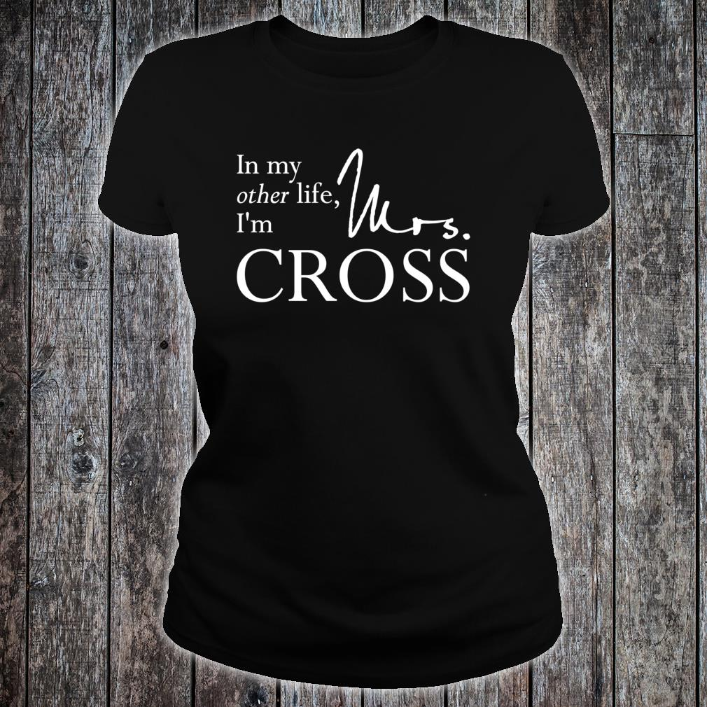 Mrs. Gideon Cross Shirt ladies tee