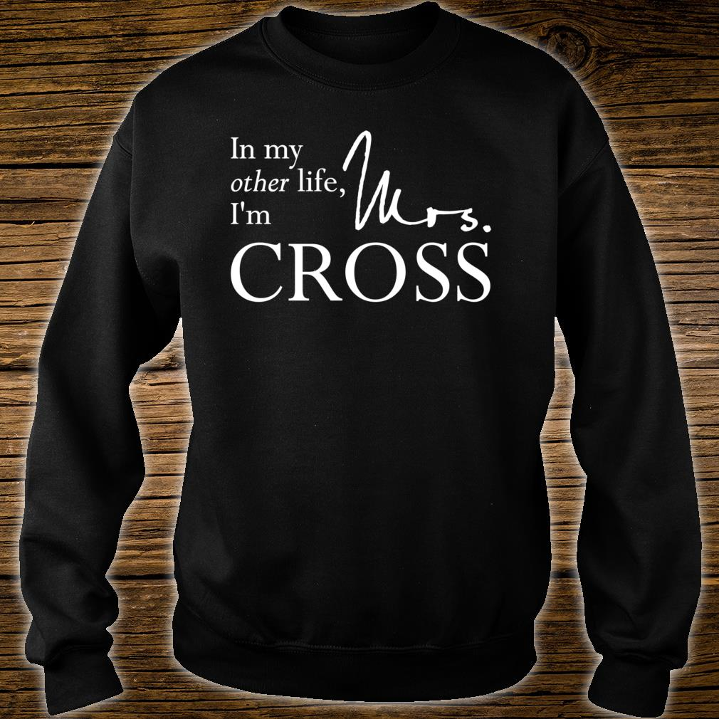 Mrs. Gideon Cross Shirt sweater
