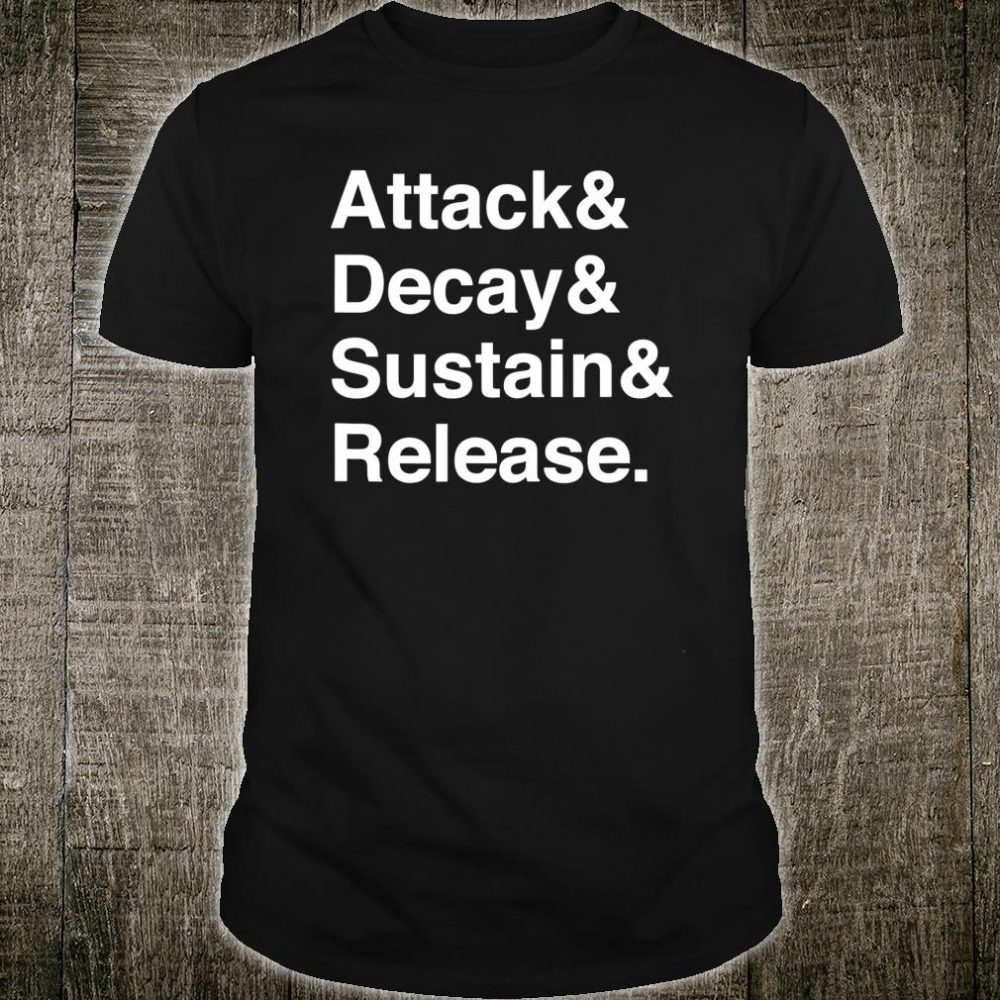Music Producer Audio Engineer Synth Programmer Shirt