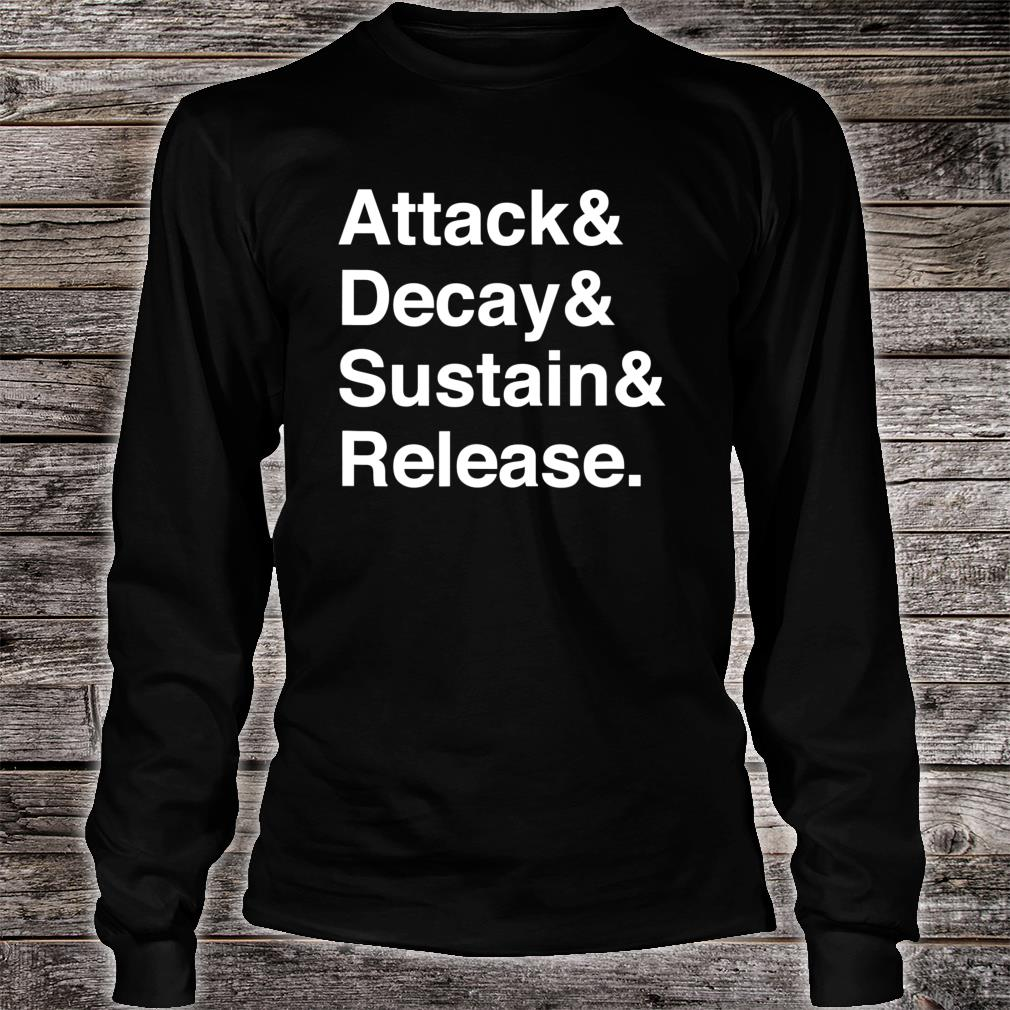 Music Producer Audio Engineer Synth Programmer Shirt long sleeved