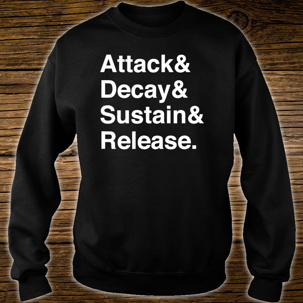 Music Producer Audio Engineer Synth Programmer Shirt sweater