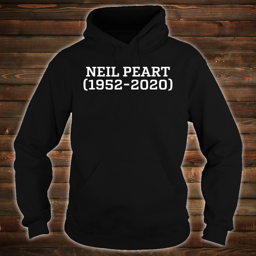 Neil MemoryPeart In Loving Drummer Dancers Shirt hoodie