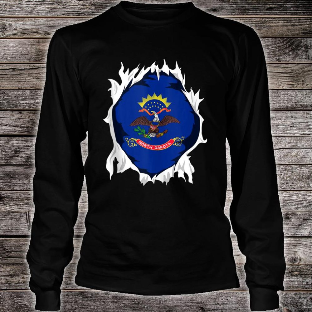 North Dakota Jersey Shirt long sleeved