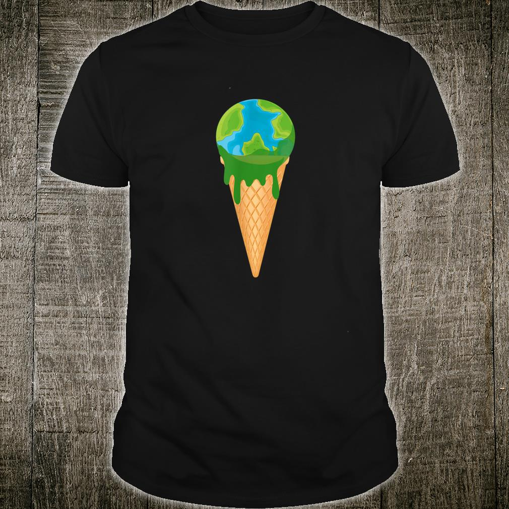 Not Delicious Earth Climate Change Demo Ice Anti Coal Shirt