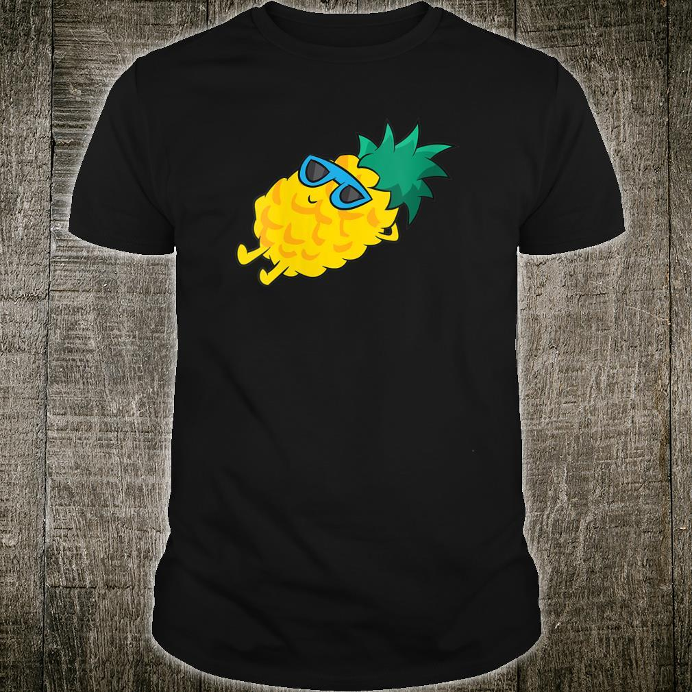 Pineapple Summer Fruit Sunglasses Cute Pineapple Shirt