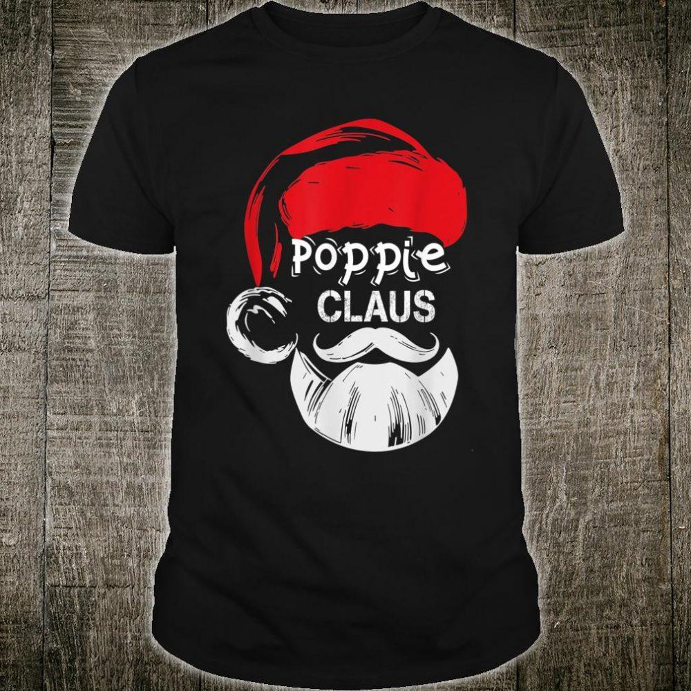 Poppie Claus Christmas Grandpa Shirt