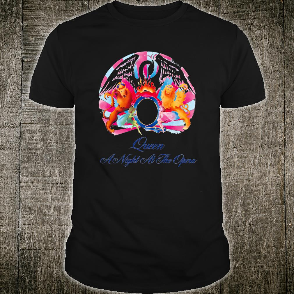 Queen Official A Night At The Opera Shirt