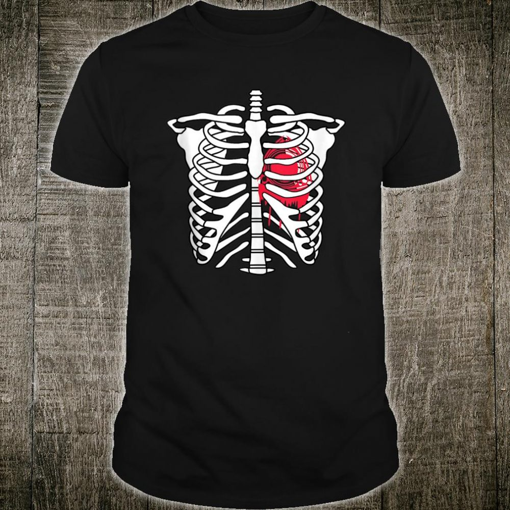 RX8 RX7 Rotary is Life Heart Beat Skeleton Shirt