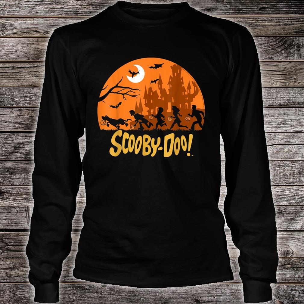 ScoobyDoo The Gang Halloween Silhouette Shirt long sleeved