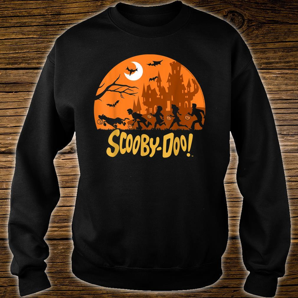 ScoobyDoo The Gang Halloween Silhouette Shirt sweater