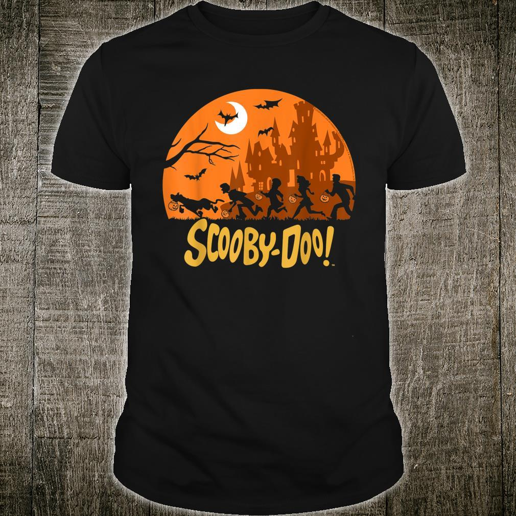 ScoobyDoo The Gang Halloween Silhouette Shirt
