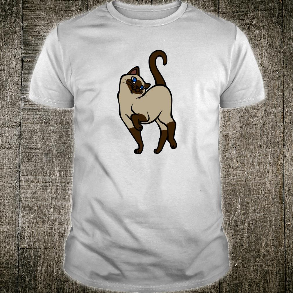 Seal Point Siamese Cat Cute Chocolate Point Cat Shirt