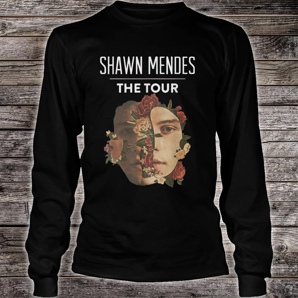 Shawn mendes the tour Shirt long sleeved