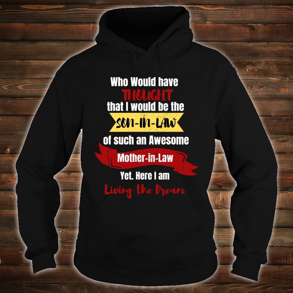 SoninLaw great Birthday. Motherinlaw Shirt hoodie