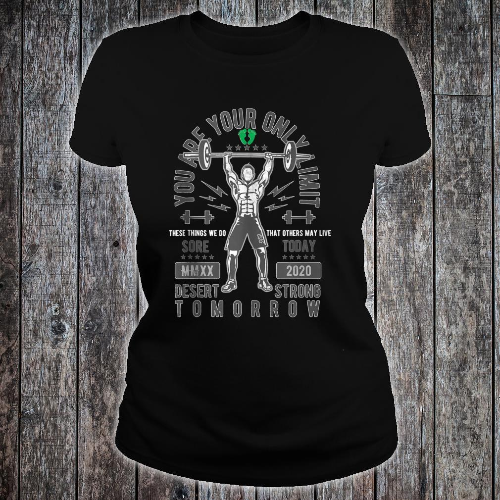 Sore Today Desert Strong Tomorrow Deployment Shirt ladies tee