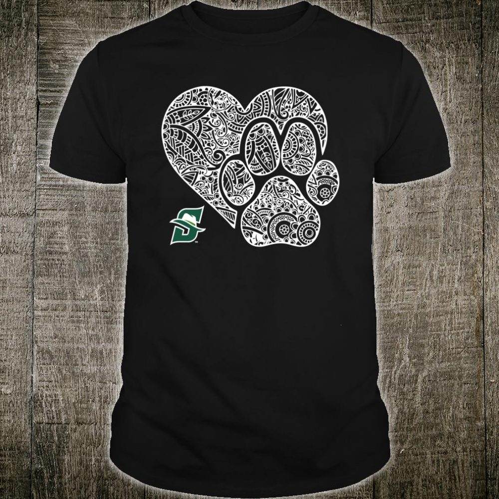Stetson Hatters Mandala Heart Paw Shirt