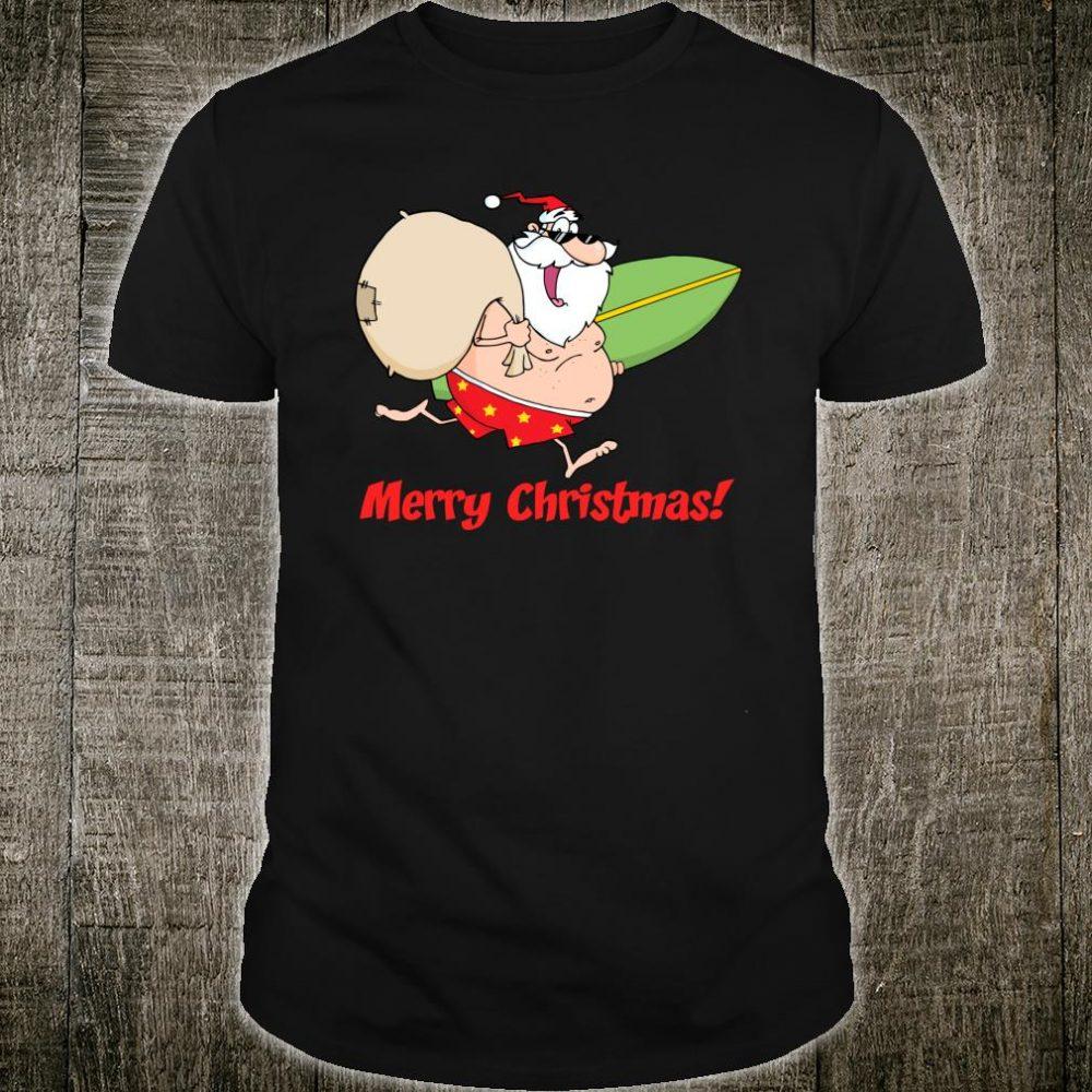 Summer Beach Merry Christmas Shirt