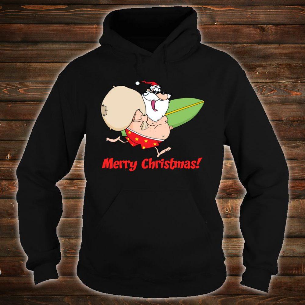 Summer Beach Merry Christmas Shirt hoodie