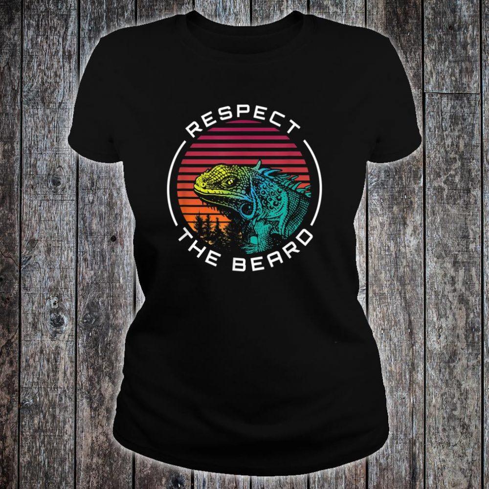 The Beard Respect Shirt ladies tee