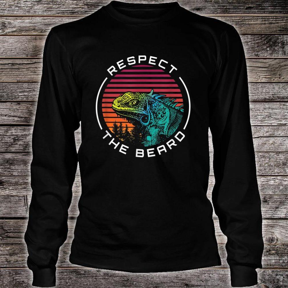 The Beard Respect Shirt long sleeved