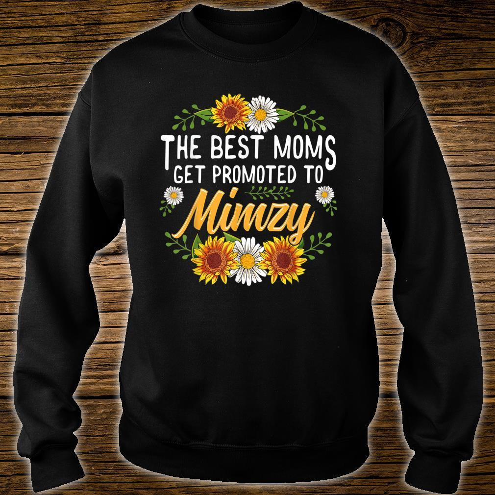 The Best Moms Get Promoted To Mimzy Shirt sweater